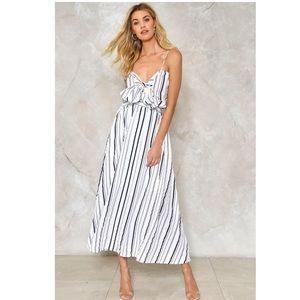 NEW Nasty Gal Stripe Dress
